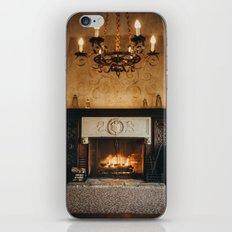 Cozy Fireplace iPhone & iPod Skin