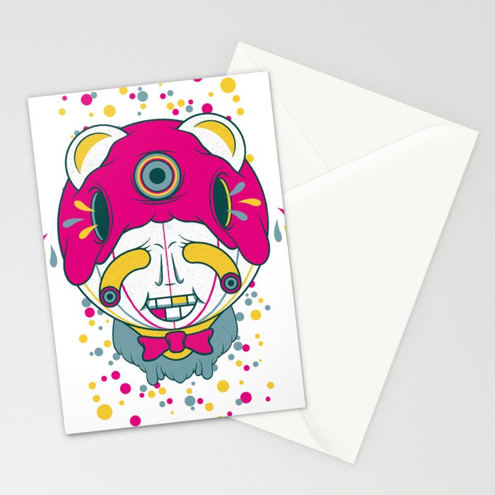 The Grinner Stationery Cards