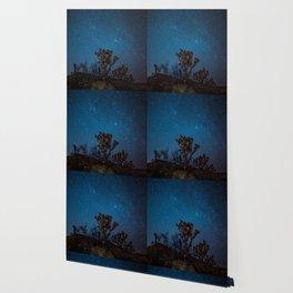 Midnight Stars at Joshua Tree Wallpaper