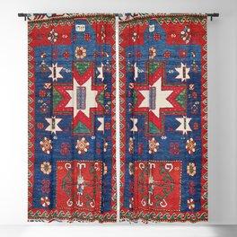 Kazak Antique Prayer Rug Print Blackout Curtain