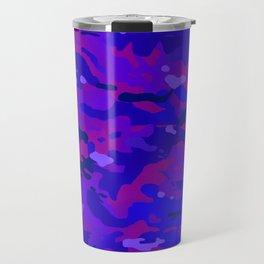 Crazy Camouflage Travel Mug