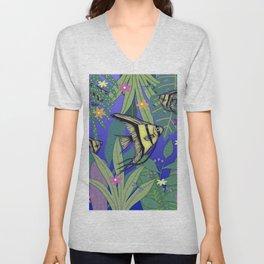 Angel Fish #1 Unisex V-Neck