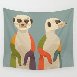 Meerkat Wall Tapestry