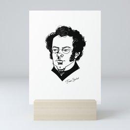 Franz Schubert Mini Art Print