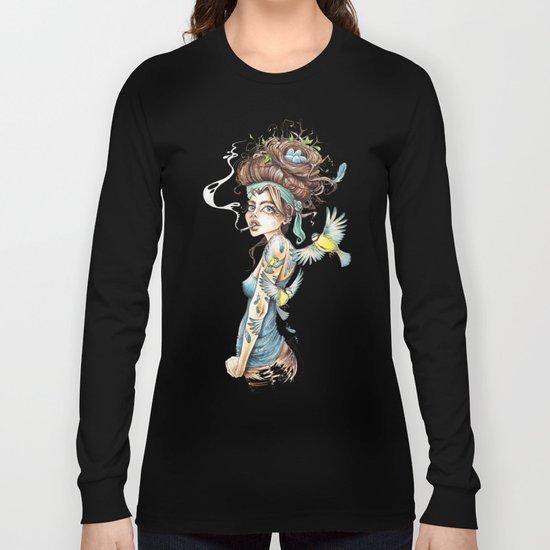 Birdbrain Long Sleeve T-shirt