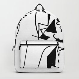 Picasso Guitare et Boîte (Guitar and Box) 1925 Artwork Reproduction Backpack