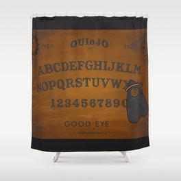 ou.eye.ja board Shower Curtain