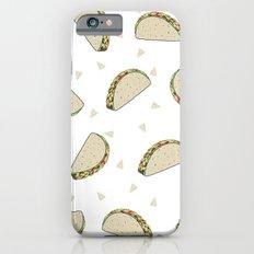 Tacos pattern food art taco design dorm college foodie iPhone 6s Slim Case