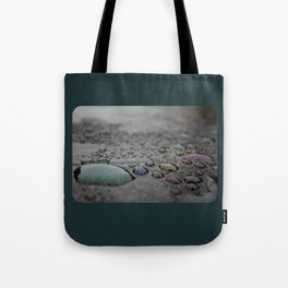 Coloured water drops Tote Bag