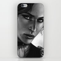 dragon age inquisition iPhone & iPod Skins featuring Dragon Age - Josephine by anivy