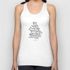 Little Things - One Direction Unisex Tank Top