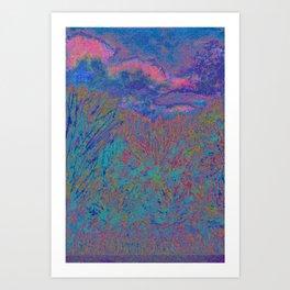 Evening In The Tall Grass Art Print
