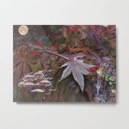 Leave of Fall Metal Print