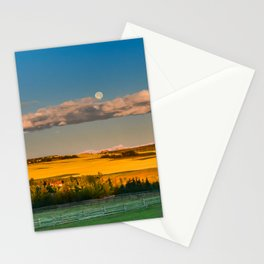 Prairie Moonset Stationery Cards