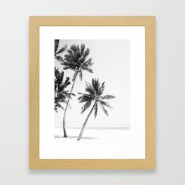 Island Framed Art Print