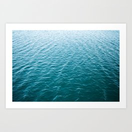 Ocean Blues Photography Art Print