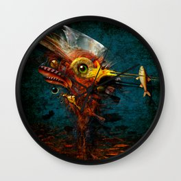 The Big Hunter Wall Clock