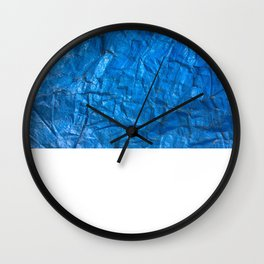 Blue texture Wall Clock