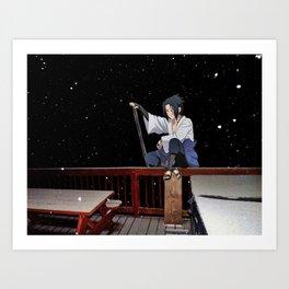 Sasuke Uchiha (Burnsville NC) (Naruto Shippuden) Art Print