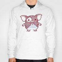gizmo Hoodies featuring Cheeseburger Gizmo by Philip Tseng