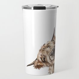 Sneaky Highland Cow Travel Mug