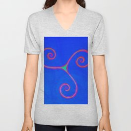 Celtic symbol Unisex V-Neck