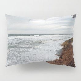 Land and Sea and the line Between Pillow Sham