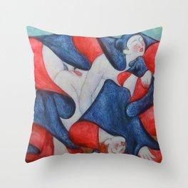 Shunga Throw Pillow