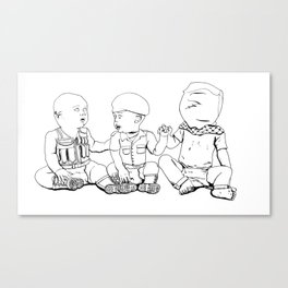 Forever Silenced Canvas Print