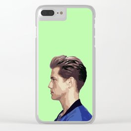 Aaron Tveit 5 Clear iPhone Case