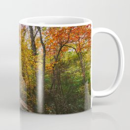 Kentucky Autumn at Natural Bridge State Park Coffee Mug