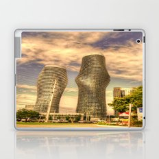 a couple of building Laptop & iPad Skin