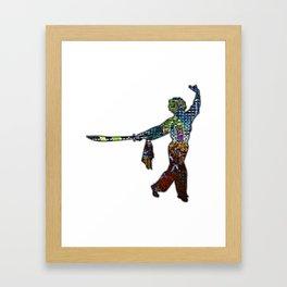 Dark Sword Framed Art Print
