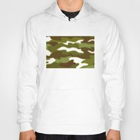 camo Hoodies featuring CAMO by Bruce Stanfield