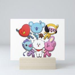 BT21 Mini Art Print
