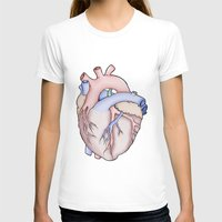 anatomical heart T-shirts featuring Anatomical Heart by JodiYoung