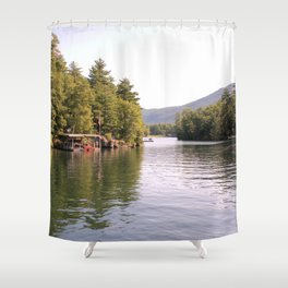 Beautiful Lake George Shower Curtain