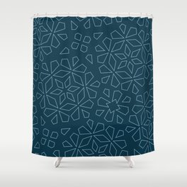 flake series // no. 2 Shower Curtain