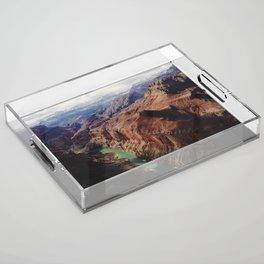 The Colorado Runs Through Marble Canyon Acrylic Tray