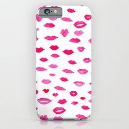 Kiss Kiss Bang Bang iPhone Case