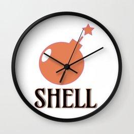 Bombshell #society6 #buyart Wall Clock