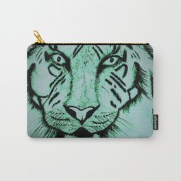 Neon Tiger Green Carry-All Pouch
