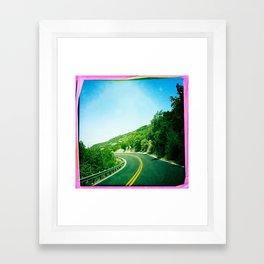 Austin, Tx. Framed Art Print