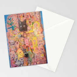 Pink Nightmare Stationery Cards