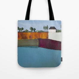 On The Precipice of the Fall Tote Bag