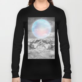 Places Neither Here Nor There (Guardian Moon) Long Sleeve T-shirt