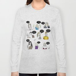 Real Housewives Drinking Long Sleeve T-shirt