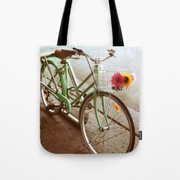 MINTY BIKE Tote Bag