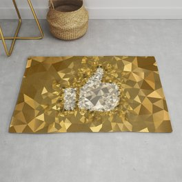 POLYNOID Like / Gold Edition Rug