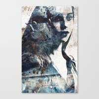 charmaine olivia Canvas Prints featuring Olivia by  Maʁϟ